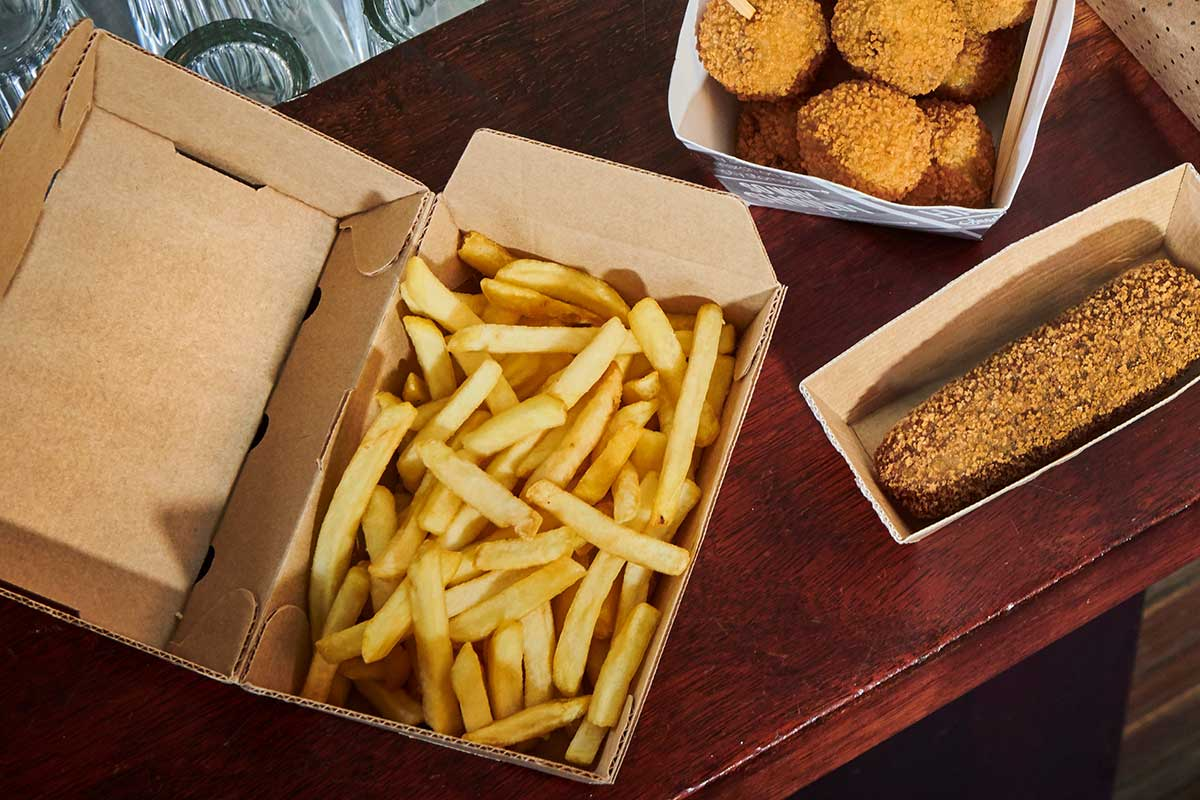 Nieuwe bezorgverpakking houdt frites langer warm en knapperig