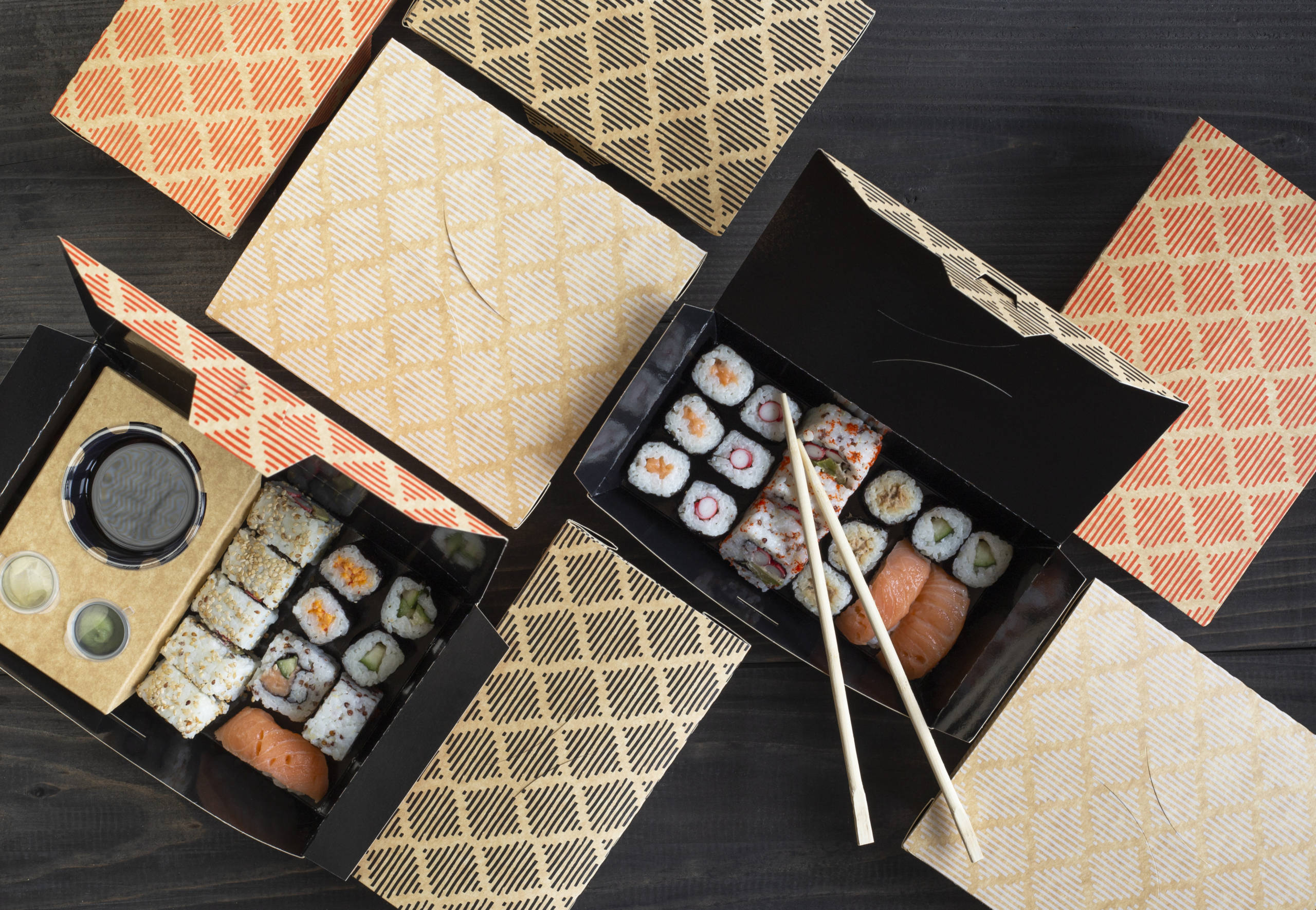 all-in-one sushiboxen